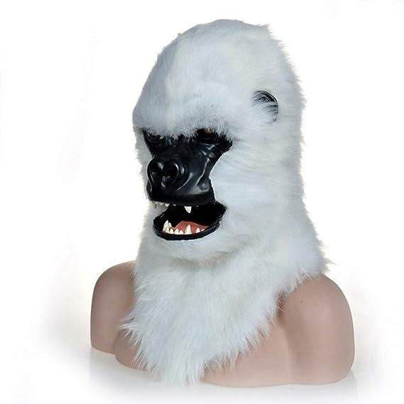 La Novedad del Partido del Traje de Halloween Máscara De Gorila De ...