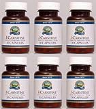 Naturessunshine l-Carnitine Amino Acid Supplement 30 Capsules (Pack of 6)