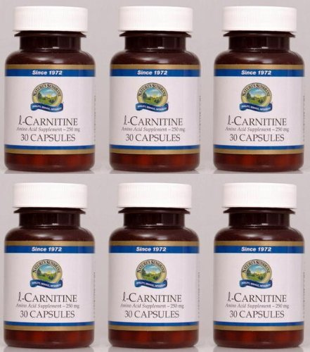 Naturessunshine l-Carnitine Amino Acid Supplement 30 Capsules (Pack of 6)