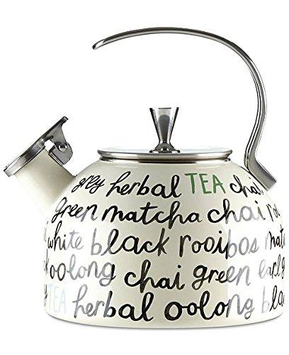 Kate Spade New York All in Good Taste Piping Hot Tea kettle