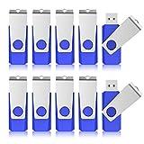 KEXIN 10pcs 16GB Flash Drive USB Stick 16 GB USB2.0 Flash Drive Bulk