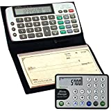Datexx DB-413 Checkbook Calculator + Money Manager Credit Card Calculator Combo