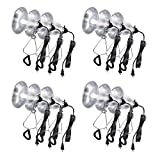 Simple Deluxe HIWKLTCLAMPLIGHTSX12 12-Pack Clamp