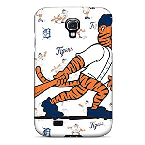 Shock-dirt Proof Detroit Tigers Case Cover For Galaxy S4