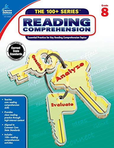 Reading Comprehension Workbook - Reading Comprehension, Grade 8 (The 100+ SeriesTM)