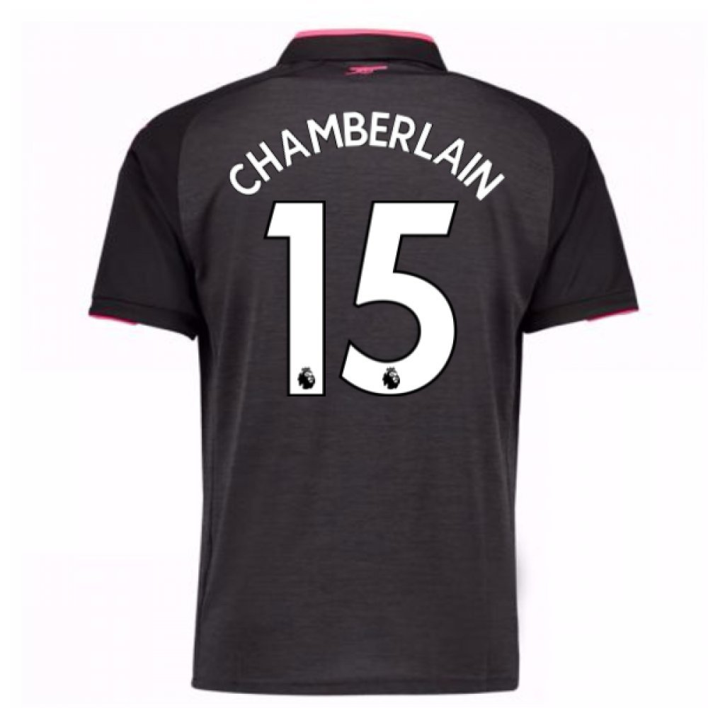 2017-18 Arsenal Third Football Soccer T-Shirt Trikot (Alex Oxlade Chamberlain 15)