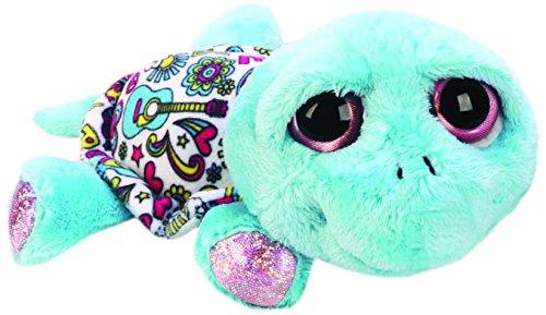 Li'l Peepers 11101 - Suki Gifts Fun, Medium Rainbow Peace und Love Schildkröte, Plüschtiere