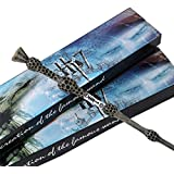 Navvi Cosplay Albus Dumbledore Old Wand/ Harry Potter Magic Magical Wand/ Elegant Ribbon Gift Box