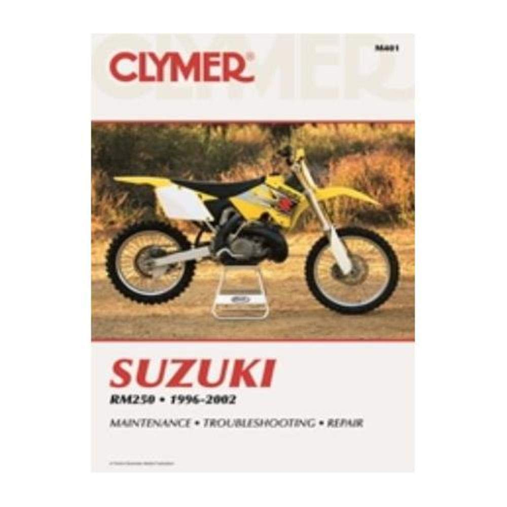 Amazon.com: 96-00 SUZUKI RM250: Clymer Service Manual: Manufacturer: Home  Audio & Theater
