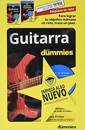 Pack Guitarra para Dummies #EmpiezaTuReto: Amazon.es: Varios Autores: Libros