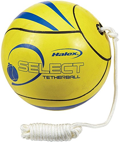 Halex Rubber Tetherball with Rope by Halex