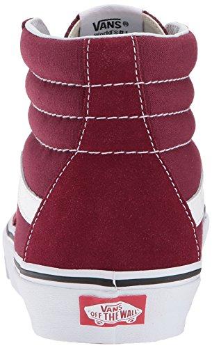 Vans Femme Sk8 Baskets Suede Canvas Hi SnYwFqS