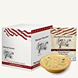 Patriot Pantry Cheesy Broccoli and Rice Soup Case Pack (24 servings, 6 pk.) Bulk Emergency Storage Food Supply, Up to 25-Year Shelf Life