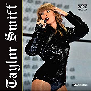 "Goldistock 2020 Large Wall Calendar -""Taylor Swift"" - 12"" x 24"" (Open) - Thick & Sturdy Paper - - America's Top Selling Female Vocalist"