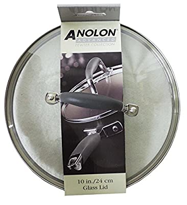 Anolon Advanced Pewter Collection Glass Lid 10""