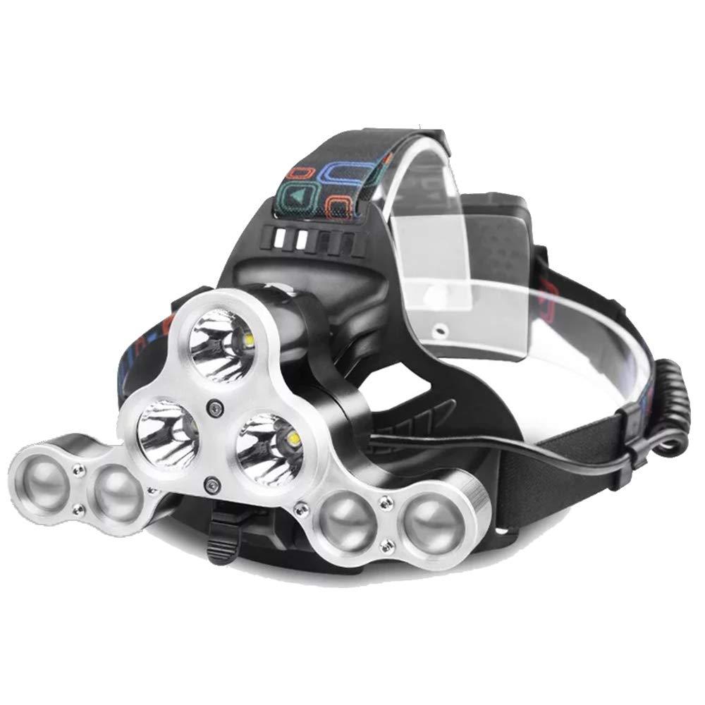 Scheinwerfer Verstellbare USB-Kopfscheinwerfer Mit Abnehmbarem Kopf Abnehmbare Fahrradbeleuchtung Outdoor-Abenteuer Bergsteigen Scheinwerfer