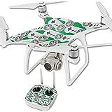 MightySkins Protective Vinyl Skin Decal for DJI Phantom 4 Quadcopter Drone wrap cover sticker skins Retro Controllers 1
