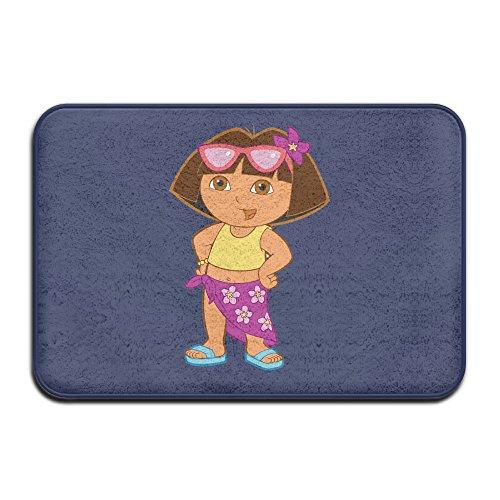 [Dora Funny Costume Pattern Design Cute Welcome Mat Doormat Outdoor Dress] (Chimp Hands Costume)