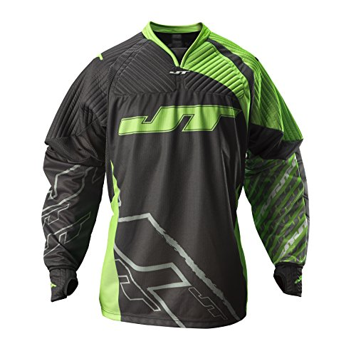 JT FX 2.0 Paintball Jersey, Neon Green, (Paintball Jerseys Pants)