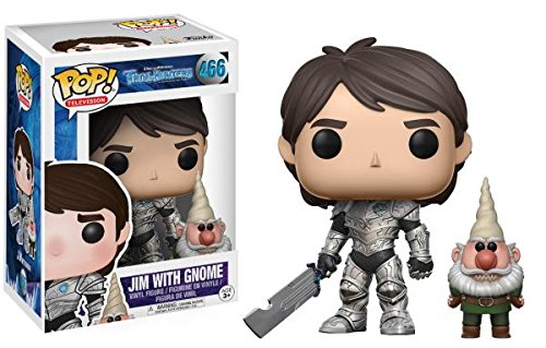 POP! Television 466: Trollhunters- Jim (Armor) & Gnome POP Vinyl Figure