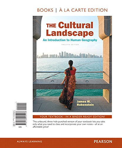 Download The Cultural Landscape An Introduction To Human Geography