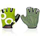Cycling Gloves Mountain Bike Gloves Half Finger Road Racing Riding Gloves...