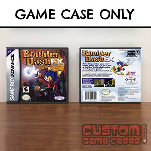 Gameboy Advance Boulder Dash EX - Case
