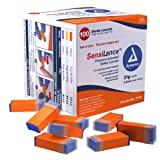 Dynarex SensiLance Safety Lancets Press Activated 21g St 10/100/Cs