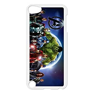 iPod Touch 5 Case White Avengers 004 VC94N286
