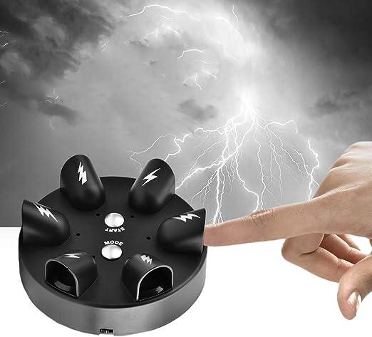 Wandisy Detector de mentiras de Descarga eléctrica Micro, Juego de Mesa de Fiesta de Verdad de Juguete de Prueba de polígrafo: Amazon.es: Hogar