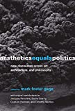 How aesthetics―understood as a more encompassing framework for human activity―might become the primary discourse for political and social engagement.      These essays make the case for a reignited understanding of aesthetics―one that casts a...