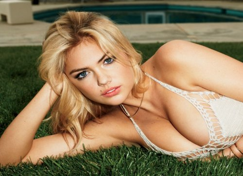 Kate Upton Poster - Sexiest Woman Alive Sexy Half Naked Model #08
