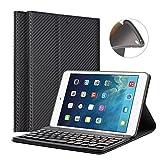 "iPad Mini 1/2/3 Keyboard Case - LUCKYDIY 7.9"" Ultra Slim Shell Stand Cover"