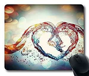 Design Mouse Pad Desktop Laptop Mousepads Love Symbol Comfortable Office Mouse Pad Mat Cute Gaming Mouse Pad