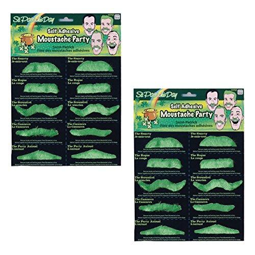 Patricks Mustache Costume Accessory Pack