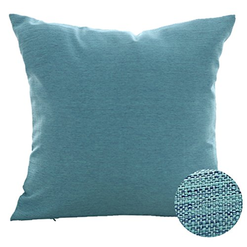 Deconovo Pillow Cover Faux Linen Pillow Sham Soft Cushion Co