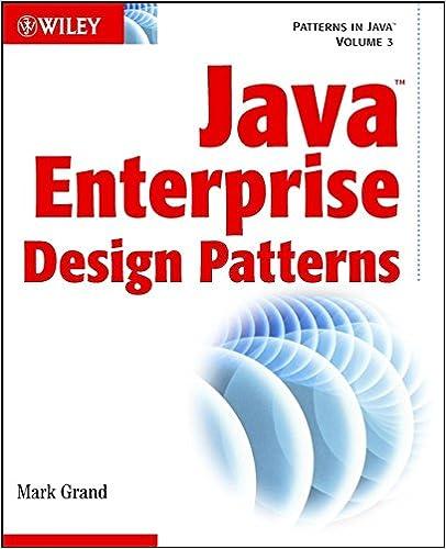 Java Enterprise Design Patterns: Patterns in Java Volume 3