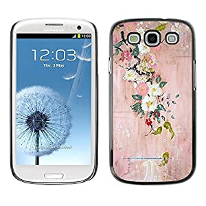For SAMSUNG Galaxy S3 III / i9300 / i747,S-type® Blossoming Tree Art Painting - Arte & diseño plástico duro Fundas Cover Cubre Hard Case Cover