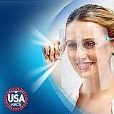 ArtToFrames Protective Face Shield, Beard
