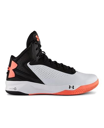 finest selection 70b7f e62b5 Amazon.com  Under Armour Mens UA Torch Basketball Shoes (9.5M, White Black  Orange)  Everything Else