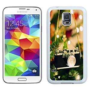 Easy use Cell Phone Case Design with Leica Camera Tree Decoration Galaxy S5 Wallpaper in White