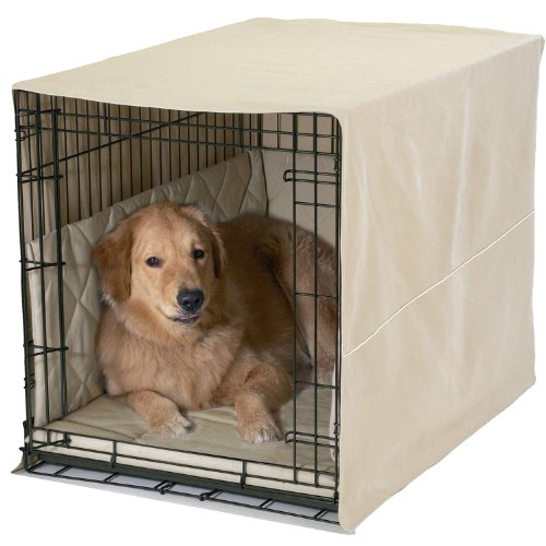 Pet Dreams- Lightweight Dog Crate Pad, Crate Cover and Bumpe