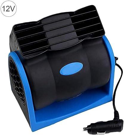 Ienpajnepqn Autofan 12v 24v Auto Kühlluftgebläse Elektroauto Lüftergeschwindigkeit Einstellbare Silent Cooler Vent Ventilatoren Hochgeschwindigkeits Blower Sicher Ohne Color 12v Küche Haushalt