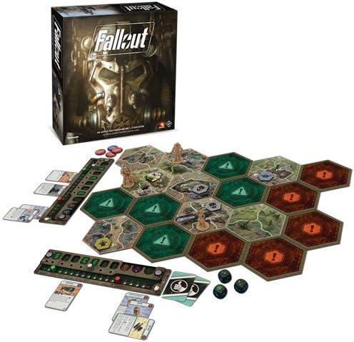 Asmodee Italia Fallout Juego de Mesa, Color Negro, izx02: Asterion: Amazon.es: Juguetes y juegos
