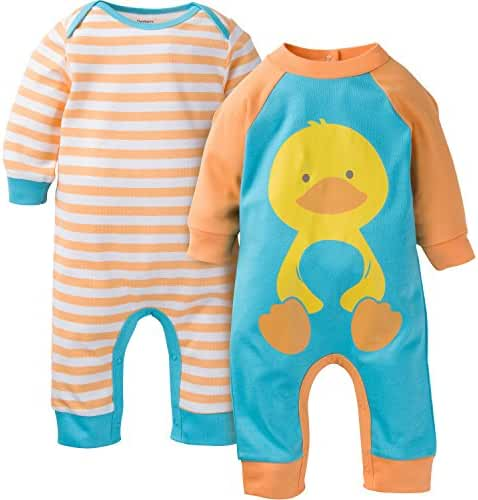 Gerber Unisex Baby 2 Pack Coveralls