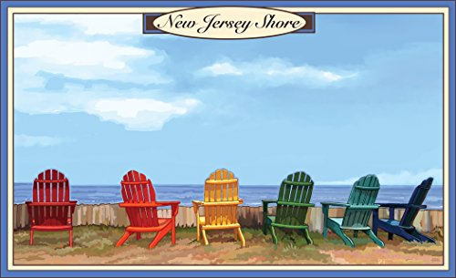 Northwest Art Mall JK-3160 ADC New Jersey Shore Adirondack Chairs 11