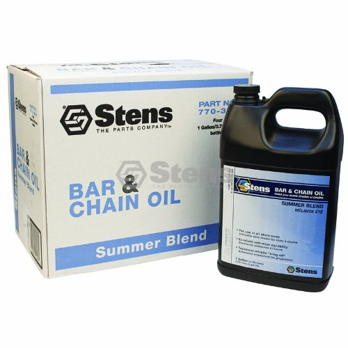 Stens # 770-329 Stens Summer Bar and Chain Oil for By The Case, Four 1 Gal BottlesBy The Case, Four 1 Gal Bottles by Stens