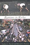img - for Barriers to Riches (Walras-Pareto Lectures) by Stephen L. Parente (2000-08-28) book / textbook / text book