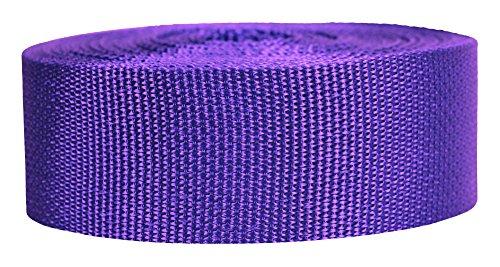 Strapworks Lightweight Polypropylene Webbing 2'' by 50 Yd, Purple, 2'' x 50 Yd by Strapworks
