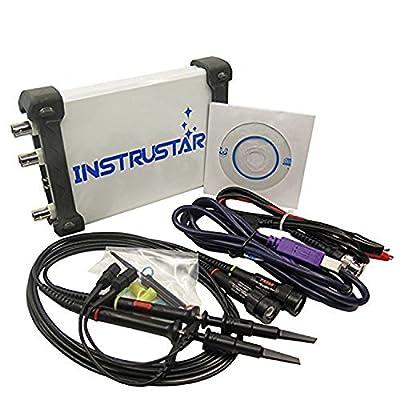 ISDS205B USB Virtual Oscilloscope Bandwidth 20MHz 48MSa/s+Signal Generator+Spectrum Analyzer+Data Logger